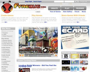 Fyrebug, crea juegos en flash
