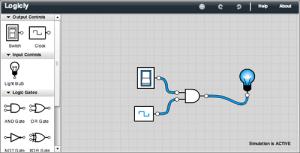 Simulador de Puertas Lógicas