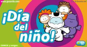 Postales dia del niño que se celebra en Mexico