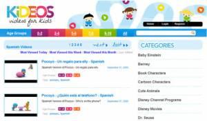 Tu web de Vídeos Infantiles