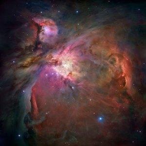 Fenómenos cosmológicos. Nebulosa-orion