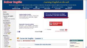 Web Saber Inglés